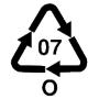 Recycling Kennzeichen Symbol ABS Acrylnitril Butadien Styrol