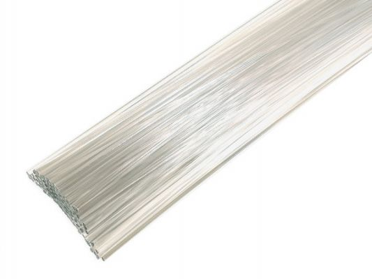 Plastic welding rods PC 3mm Round Transparent 1kg rods
