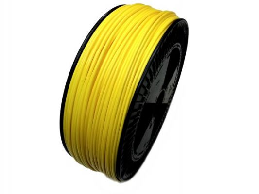 Plastic welding rod PE-HD 4mm Round Yellow (RAL1018) 2,4 kg Coil