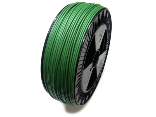 Plastic welding rod PE-HD 4mm Round Green (RAL6001) 2,4 kg Coil