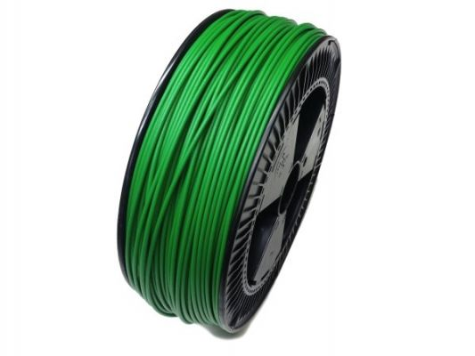Plastic welding rod PE-HD 4mm Round Green (RAL6037) 2,4 kg Coil