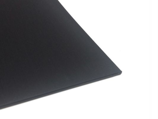 Plastic plate ABS 1mm Black 300 x 200 mm