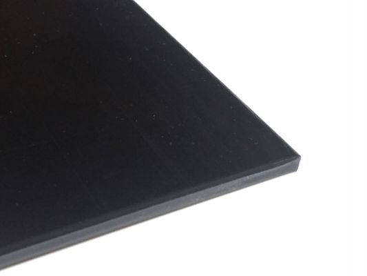 Plastic plate ABS 4mm Black 300 x 200 mm