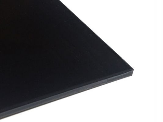 Plastic plate ABS 5mm Black 1000 x 500 mm