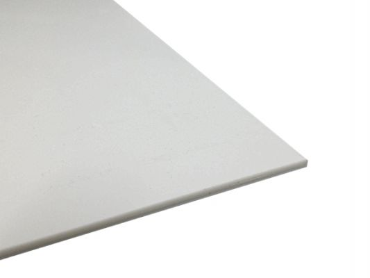 Plastic plate ABS 1mm White 300 x 200 mm