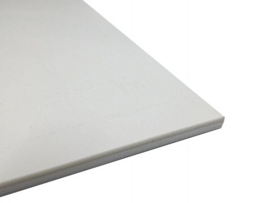Plastic plate ABS 2mm White 300 x 200 mm