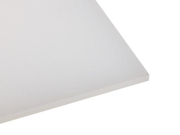 Kunststoffplatte PE-HD 3mm Schwarz 500 x 300 mm